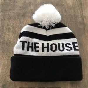 The House Pom Beanie Toboggan - Adult One Size -